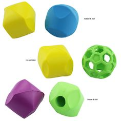 Our bright and colorful cat dice are lightweight and irregularly shaped to provide non-stop, unpredictable fun for your furry feline!