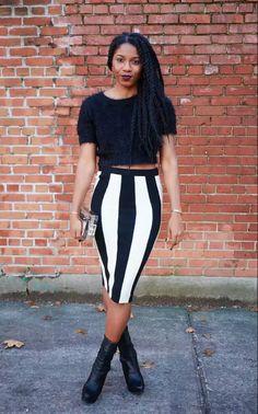 ecstasymodels:  Stripes  FashionSteele NYC