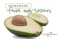 Homemade Natural Facial Moisturizer Recipes