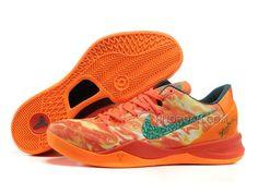 new style 81d8a d2713 Nike Zoom Kobe 8 VIII Lifestyle Orange Green, Price   74.00 - Air Jordan  Shoes, Michael Jordan Shoes