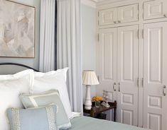 Phoebe Howard :: House Beautiful :: On the walls, Sherwin-Williams's Blue Hubbard