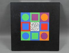 VICTOR VASARELY (Hungarian/French. 1908-1997) Starting bid $400.00