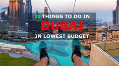 Dubai is still remains favorite destination for the budget travelers. Here we are listing things to do in Dubai where you still can have the dream holiday Cheap Things To Do, 21 Things, Stuff To Do, Dubai City, Dubai Mall, Dubai Tour, Enjoy Your Vacation, Most Visited, Budget Travel