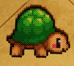 Turtle perler beads by cephalo786 on deviantart