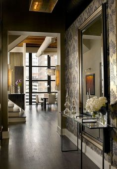 Foyer Design Ideas 60 Foyer Decorating Ideas Design Pictures Of Intended For Modern Foyer Design by The Master Entry Way Design, House Design, House Interior, Home, Urban Loft, House, Foyer Design, Interior, Modern Foyer