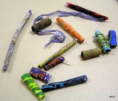 Conversations in Cloth: Making Fabric Beads : Demo by Lois W.