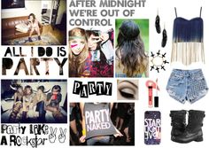 """""""After midnight we're out of control"""" by katelynnemt ❤ liked on Polyvore"""