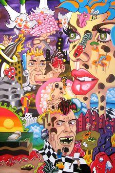 Diesmal stelle ich euch 3 Artists psychedelischer Kunst und ihre surrealistischen Collagen vor, die zum nachdenken und philosophieren anregen.