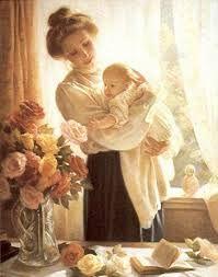 Resultado de imagem para kids and mother portrait paintings