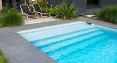 Swiming Pool, Rectangular Pool, Plunge Pool, Banquette, Cafe Interior, Home Remodeling, New Homes, Home And Garden, Design Inspiration