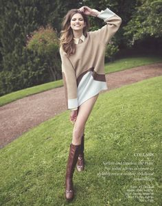 'Time After Time' - model: Bette Franke - photographer: David Bellemere - fashioneditor: Ondine Azoulay - hair: Maxime Mace - make-up: Topolino - Porter Magazine Fall 2014 Look Fashion, Daily Fashion, Runway Fashion, Fashion Models, Autumn Fashion, Fashion Shoot, Bette Franke, Garance, Ondine