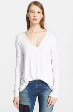 rag & bone/JEAN Long Sleeve Tee available at #Nordstrom