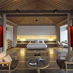ocean pool pavilion interior | Amanresorts - Amano'i | Vietnam