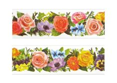 Hey, I found this really awesome Etsy listing at https://www.etsy.com/listing/115463581/mt-ex-flower-garden-wide-washi-tape-1