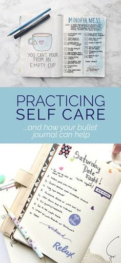 Self Care Bullet Journal - Spread ideas for your bullet journal! #bulletjournal #selfcare