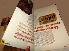 Publicación tipográfica / Nota principal