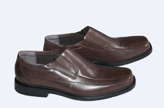 Clarks Men's DEANE Brown Leather Casual  Shoes Size US 12 M   UK 11.5   EU 47  #Clarks #DressCasual