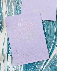 Paper Party 2016 Art Print / Design by Ashley Buzzy Lettering & Press, Printed by Mama's Sauce on Lavender Color Plan paper from Legion Paper / Oh So Beautiful Paper Color Plan, Jem And The Holograms, Foil Art, Paper Hearts, Diy Party, Party Ideas, Foil Stamping, Party Signs, Wedding Paper