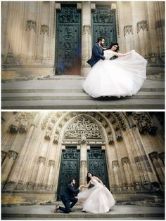 Prague Pre-Wedding Photoshoot #: OneThreeOneFour (Evgeniyao)