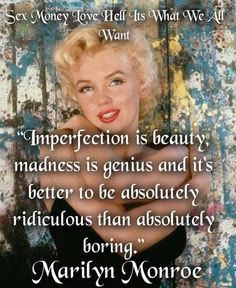 Imperfection....