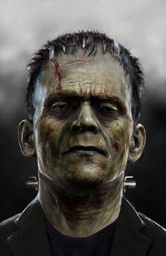 Frankenstein WIP by uncannyknack.deviantart.com on @DeviantArt