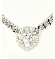 Lions Head Necklace