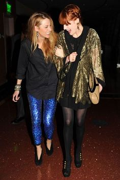 blake and florence...style queen pals