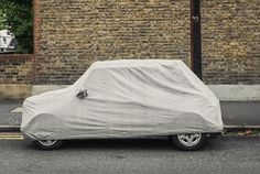 Covered Cars by Markus Luigs, via Behance