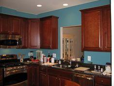 34 best kitchen paint colors images cherry cabinets cherry wood rh pinterest com