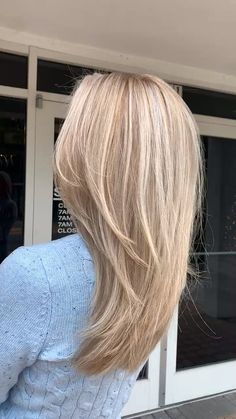 Summer Hairstyles For Medium Hair, Haircuts For Fine Hair, Choppy Haircuts, Medium Hair Cuts, Medium Hair Styles, Long Hair Styles, Round Face Haircuts, Hairstyles Over 50, Long Hair Cuts