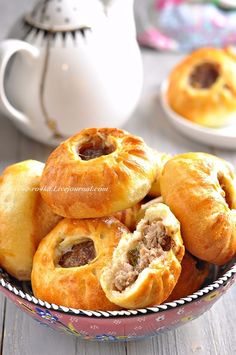 Ukrainian Recipes, Russian Recipes, Dude Food, Slow Cooker Recipes, Cooking Recipes, Savory Pastry, Good Food, Yummy Food, Sweet Pastries