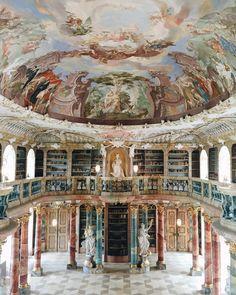 Библиотека монастыря Виблинген в городе Ульм