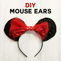 DIY Mouse Ears Tutor