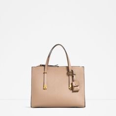 CITY BAG WITH ADJUSTABLE HANDLE-View all-BAGS-WOMAN | ZARA Hungary