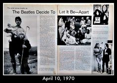 On this day in American History, the break up of The Beatles was announced by Paul McCartney. This was the end of one of the most influential bands of the 20th century. Preview our children's history DVD click on pin