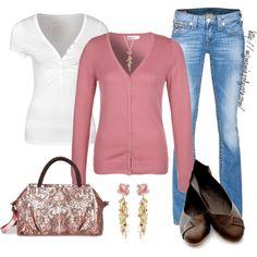 Rose-colored Cardigan