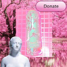 Donate green tea
