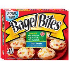 Bagel Bites Three Cheese Mini Bagels, 40 count, 31.1 oz
