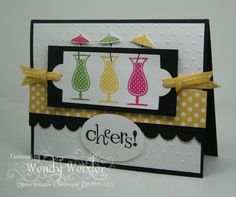 SO cute! a cheers card, would make a cute birthday card! I could use the martini glass in my misc. stamp set.