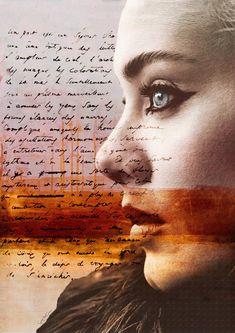 Adele Collage Photo giclee woman Hello singer por SoulArtCorner