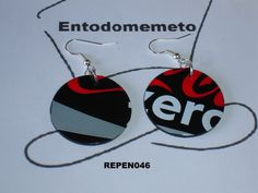 Pendientes Lata de Refresco de Entodomemeto por DaWanda.com