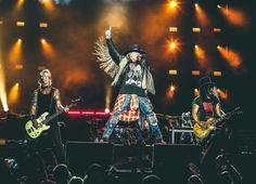 Guns N' Roses em Chicago: fotos, vídeos da primeira apresentação no Soldier Field