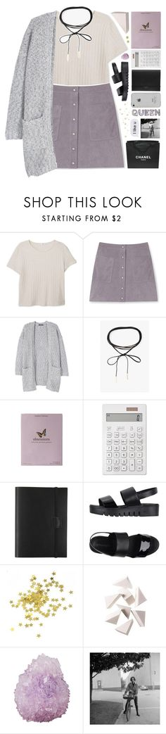 """♡ SLOANE'S 5K SET CHALLENGE"" by positivitea ❤ liked on Polyvore featuring MANGO, Rebecca Minkoff, Azalea, Kelly Wearstler, Muji, Undercover, Jeffrey Campbell, Chanel, Bobbi Brown Cosmetics and Mapleton Drive"