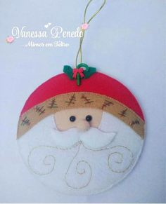 Feltro Fácil - Moldes e Apostilas Merry Christmas, Xmas, Christmas Ornaments, Felt Crafts Diy, Needle Felting, Flamingo, Hand Embroidery, Santa, Holiday Decor
