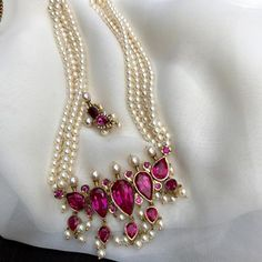 Fulfill a Wedding Tradition with Estate Bridal Jewelry Gold Jewellery Design, Bead Jewellery, Beaded Jewelry, Silver Jewelry, Handmade Jewellery, Silver Wedding Jewellery, Jewellery Shops, Pearl Jewelry, Antique Jewellery