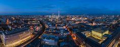 Berlin - Skyline Aussicht Ost by Jean Claude  Castor on 500px
