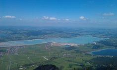 Forggensee, hoch auf dem Walberg