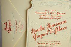 Flourish Letterpress and Wood Wedding Invitations | CUSTOM PROJECTS