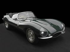 1957 Jaguar XKSS British Racing Green......one of the most beautiful cars ever built.