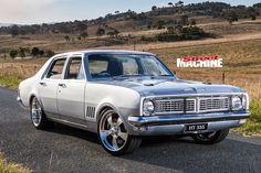 Matt Cowan's killer Holden HT Kingswood has been in the family since new. Australian Muscle Cars, Aussie Muscle Cars, Hq Holden, Holden Kingswood, Holden Australia, S Car, Drag Cars, Hot Rods, Cool Cars